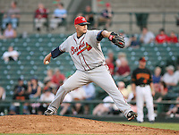 Jeff Bennett of the Richmond Braves vs. the Rochester Red Wingss:  May 31st, 2007 at Frontier Field in Rochester, NY. Photo By Mike Janes/Four Seam Images
