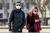 Coronavirus Masks London - 13.03.2020