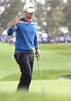 27 AN 13 Rookie Luke Guthie during Sunday's Third Round action  at The Farmers Insurance Open at Torrey Pines Golf Course in La Jolla, California. (photo:  kenneth e.dennis / kendennisphoto.com)