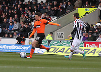 Mark Millar in the St Mirren v Dundee United Clydesdale Bank Scottish Premier League match played at St Mirren Park, Paisley on 27.10.12.