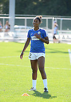 Kansas City, MO - Sunday September 04, 2016: Brianne Reed prior to a regular season National Women's Soccer League (NWSL) match between FC Kansas City and the Sky Blue FC at Swope Soccer Village.