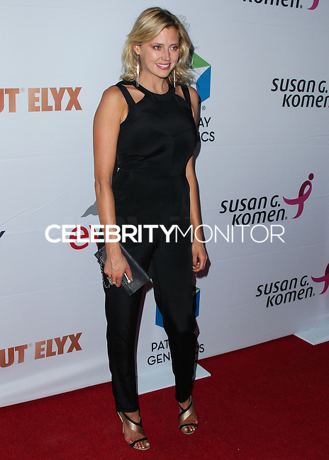 SANTA MONICA, CA, USA - JUNE 11: Estella Warren at the Pathway To The Cures For Breast Cancer: A Fundraiser Benefiting Susan G. Komen held at the Barker Hangar on June 11, 2014 in Santa Monica, California, United States. (Photo by Xavier Collin/Celebrity Monitor)