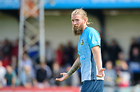 Gainsborough Trinity's Kingsley James<br /> <br /> Photographer Chris Vaughan/CameraSport<br /> <br /> Football Pre-Season Friendly (Community Festival of Lincolnshire) - Gainsborough Trinity v Lincoln City - Saturday 6th July 2019 - The Martin & Co Arena - Gainsborough<br /> <br /> World Copyright © 2018 CameraSport. All rights reserved. 43 Linden Ave. Countesthorpe. Leicester. England. LE8 5PG - Tel: +44 (0) 116 277 4147 - admin@camerasport.com - www.camerasport.com