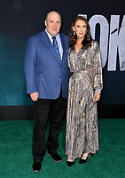 "LOS ANGELES, USA. September 29, 2019: Glenn Fleshler & Guest at the premiere of ""Joker"" at the TCL Chinese Theatre, Hollywood.<br /> Picture: Paul Smith/Featureflash"