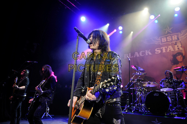 LONDON, ENGLAND - MARCH 20: Ricky Warwick of 'Black Star Riders' performing at Shepherd's Bush Empire on March 20, 2015 in London, England.<br /> CAP/MAR<br /> &copy; Martin Harris/Capital Pictures