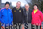 Dan Fitzgerald, Padraig Buckley, Matt and Caroline Sweetman pictured at the Feet First 5 mile run in Killarney on Friday.