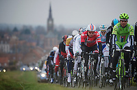 Gent-Wevelgem 2013.Edvald Boasson Hagen (NOR) in the pack.