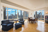 Living Room at 1 Central Park West