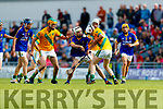 Kilmoyley in action against  Lixnaw in the Kerry County Senior Hurling championship Final at Austin Stack Park on Sunday.