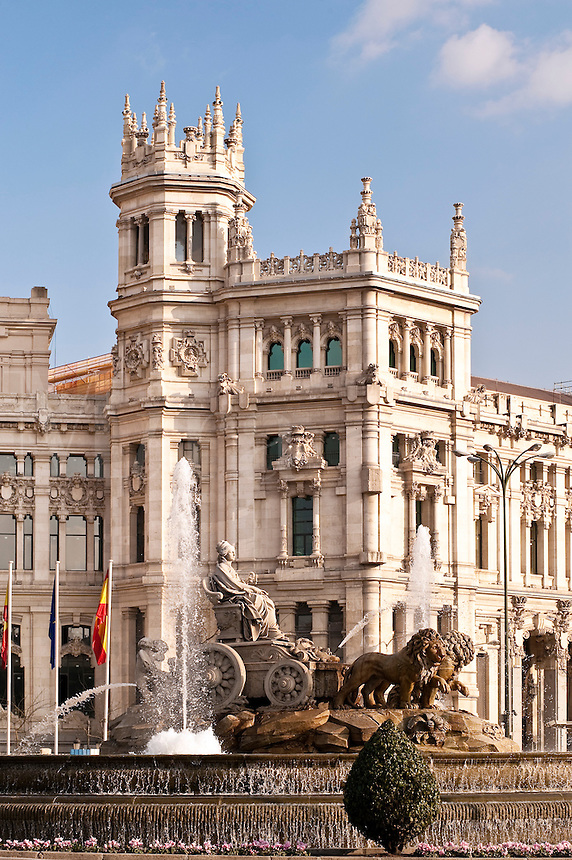 Plaza de la Cibeles, Madrid, Spain