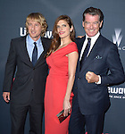 "Owen Wilson , Lake Bell and Pierce Brosnan attends The Premiere Of The Weinstein Company's ""No Escape"" held at The Regal Cinemas L.A. Live in Los Angeles, California on August 17,2015                                                                               © 2015 Hollywood Press Agency"