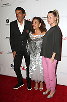 "LOS ANGELES - OCT 15:  Chris Ivery, Debbie Allen, Ellen Pompeo at the ""Turn Me Loose"" at the Wallis Annenberg at the Wallis Annenberg Center for the Performing Arts on October 15, 2017 in Beverly Hills, CA"