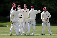 C Griffiths of Brentwood celebrates taking the wicket of T Cummins during Brentwood CC vs Wanstead and Snaresbrook CC (batting), Shepherd Neame Essex League Cricket at The Old County Ground on 11th May 2019