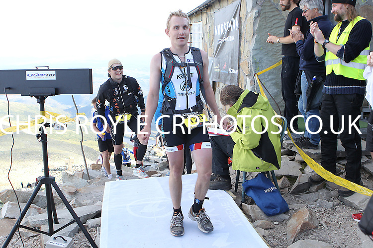 Race number 120 - Eivind Kittilsen- Norseman Xtreme Tri 2012 - Norway - photo by chris royle/ boxingheaven@gmail.com