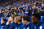 16.03.2019, VELTINS Arena, Gelsenkirchen, Deutschland, GER, 1. FBL, FC Schalke 04 vs. RB Leipzig<br /> <br /> DFL REGULATIONS PROHIBIT ANY USE OF PHOTOGRAPHS AS IMAGE SEQUENCES AND/OR QUASI-VIDEO.<br /> <br /> im Bild Feature Fans / Zuschauer Schalke<br /> <br /> Foto © nordphoto / Kurth