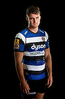 Ollie Devoto poses for a portrait at a Bath Rugby photocall. Bath Rugby Media Day on August 28, 2014 at Farleigh House in Bath, England. Photo by: Patrick Khachfe / Onside Images