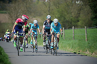 an elite group of chasers (with Tony Martin & Vincenzo Nibali) up the steepest hill in Holland; the Keutenberg (22%)<br /> <br /> 50th Amstel Gold Race 2015