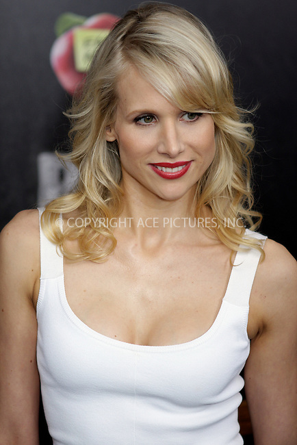 WWW.ACEPIXS.COM . . . . .  ....June 20 2011, New York City....Actress Lucy Punch arriving at the New York premiere of 'Bad Teacher' at the Ziegfeld Theatre on June 20, 2011 in New York City. ....Please byline: NANCY RIVERA- ACEPIXS.COM.... *** ***..Ace Pictures, Inc:  ..Tel: 646 769 0430..e-mail: info@acepixs.com..web: http://www.acepixs.com