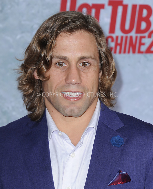 WWW.ACEPIXS.COM<br /> <br /> February 18 2015, LA<br /> <br /> Urijah Faber at the premiere of Paramount Pictures' 'Hot Tub Time Machine 2' at the Regency Village Theatre on February 18, 2015 in Westwood, California.<br /> <br /> <br /> By Line: Peter West/ACE Pictures<br /> <br /> <br /> ACE Pictures, Inc.<br /> tel: 646 769 0430<br /> Email: info@acepixs.com<br /> www.acepixs.com