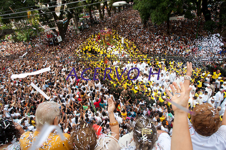 Círio em homenagem a Nossa Senhora de Nazaré.14/10/2012Belém, Pará, Brasil.Foto Paulo Santos