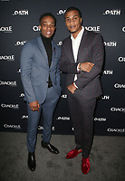 07 March 2018 - Culver City, California - Arlen Escarpeta, Cory Hardrict<br /> . &quot;The Oath&quot; TV Series Los Angeles Premiere held at Sony Pictures Studios.   <br /> CAP/ADM/FS<br /> &copy;FS/ADM/Capital Pictures