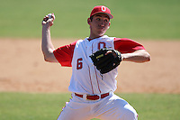 March 23, 2010:  Pitcher Brian Bobinski of the Ohio State University Buckeyes during a game at the Chain of Lakes Stadium in Winter Haven, FL.  Photo By Mike Janes/Four Seam Images