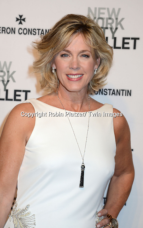 Deborah Norville  attends the New York City Ballet Spring 2014 Gala on May 8, 2014 at David Koch Theatre in Lincoln Center in New York City, NY, USA.