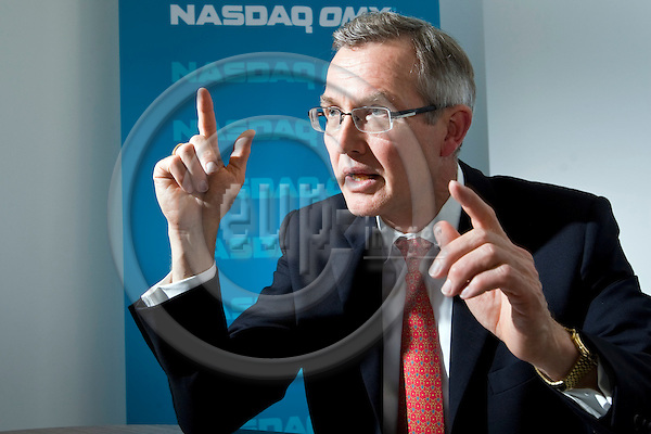BRUSSELS - BELGIUM - 29 May 2013 -- Hans-Ole Jochumsen, President of Nasdaq OMX Nordic and  Executíve Vice President Nasdaq OMX Group. -- PHOTO: Juha ROININEN /  EUP-IMAGES