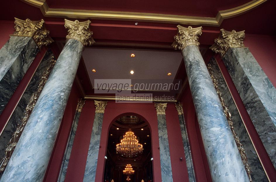 Europe/France/Normandie/Basse-Normandie/14/Calvados/Deauville : Hall d'entrée du casino