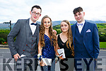Enjoying the Killarney secondary schools Debs at Ballyroe Heights Hotel on Monday were Ross Brennan, Lorna O Neill, Rachel Montgomery and James Flynn