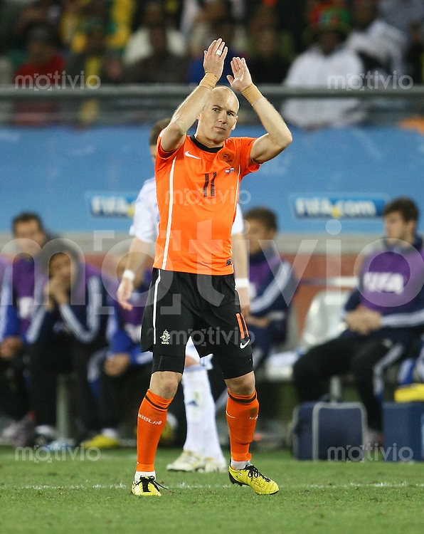 FUSSBALL WM 2010   ACHTELFINALE      28.06.2010 Holland - Slowakei Arjen ROBBEN (Holland)