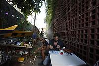Praça Conde Koma.<br /> Belém, Pará, Brasil.<br /> Foto Paulo Santos<br /> 01 07 2017