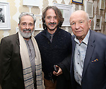 Craig Lucas, Frankie Krainz and Terrence McNally during The DGF's 14th Biannual Madge Evans & Sidney Kingsley Awards at the Dramatists Guild Fund headquarters on April 4, 2016 in New York City.