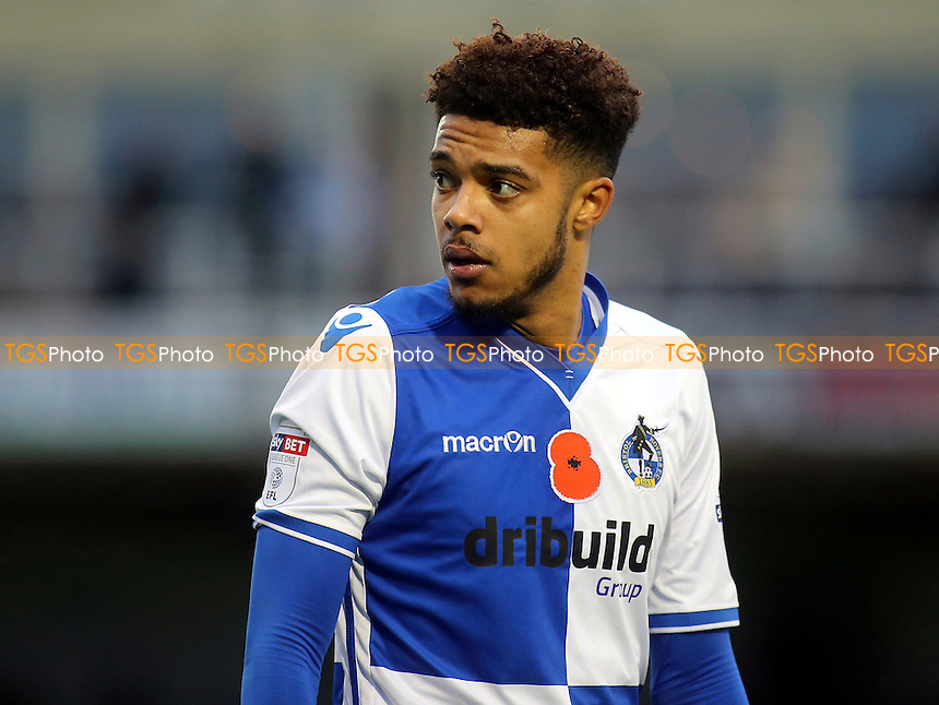 Jake Clarke-Salter of Bristol Rovers, currently on loan from Chelsea during Bristol Rovers vs MK Dons, Sky Bet EFL League 1 Football at the Memorial Stadium on 19th November 2016