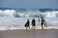 Strand von El Cotillo, Surfer, Fuerteventura, Spanien