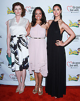 "WESTWOOD, LOS ANGELES, CA, USA - JUNE 21: Rebecca Wisocky, Judy Reyes, Roselyn Sanchez at the Los Angeles Premiere Of ""La Golda"" held at The Crest on June 21, 2014 in Westwood, Los Angeles, California, United States. (Photo by David Acosta/Celebrity Monitor)"