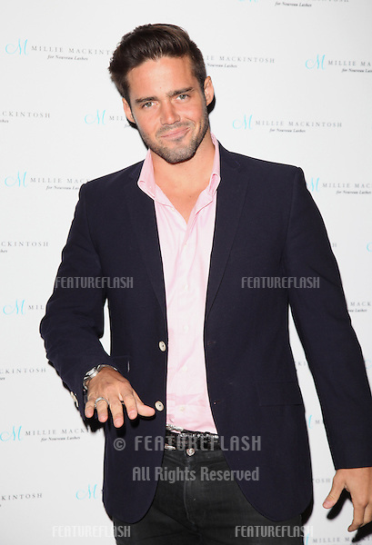 Spencer Matthews arriving for the Nouveau Lashes Launch, London.  18/09/2012 Picture by: Alexandra Glen / Featureflash