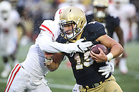Annapolis, MD - October 8, 2016: during game between Houston and Navy at  Navy-Marine Corps Memorial Stadium in Annapolis, MD.   (Photo by Elliott Brown/Media Images International)