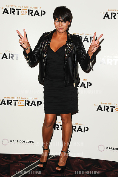 "Betty Boo arriving for premiere of ""The Art of Rap"" at the Apollo Hammersmith, London. 19/07/2012 Picture by: Steve Vas / Featureflash"