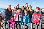 Pictured at Ballyheigue races on Sunday were Roisin Maher, Ava Reidy, Ashling Maher, Donncha Maher, Sandra Maher, Martina Brosnan, Ciaran Brosnan, Sinead Brosnan, Orla Brosnan, Patsy Maher.  From New York and Ballybunion