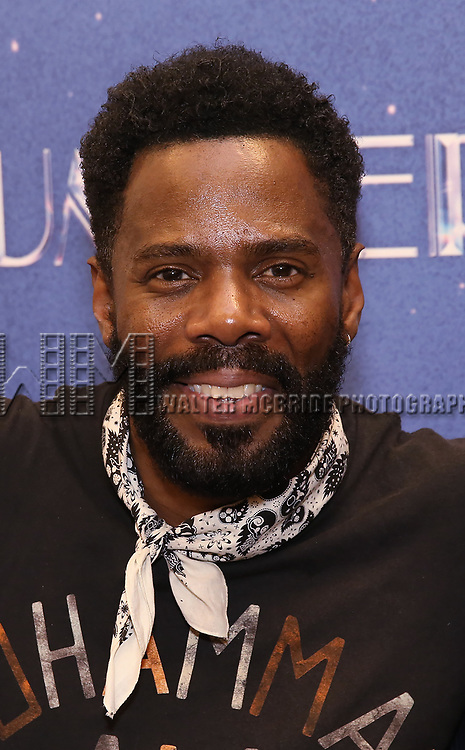 """Colman Domingo attends the Meet & Greet for """"Summer: The Donna Summer Musical"""" on March 8, 2018 at the New 42nd Street Studios,  in New York City."""