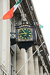 Clerys shop clock, O'Connell street, city of Dublin, Ireland, Irish Republic