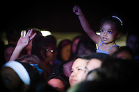 A young fan at a Plain White T's concert in Yokosuka Japan