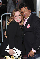 Melissa McCarthy &amp; Erik Estrada at the premiere for &quot;CHiPS&quot; at the TCL Chinese Theatre, Hollywood. Los Angeles, USA 20 March  2017<br /> Picture: Paul Smith/Featureflash/SilverHub 0208 004 5359 sales@silverhubmedia.com
