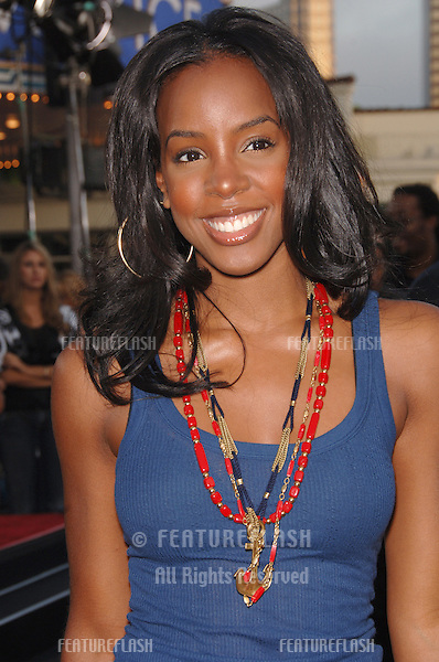 "Destiny's Child star KELLY ROWLAND at the world premiere, in Los Angeles, of ""Miami Vice."".July 20, 2006  Los Angeles, CA.© 2006 Paul Smith / Featureflash"
