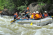 Colorado River Runs crashing Interstate, Dead Cow and Rodeo Rapids while running the Lower Eagle River, June 18, 2013, Afternoon Trip, PM, Eagle, Colorado - WhiteWater-Pix | River Adventure Photography - by MADOGRAPHER Doug Mayhew