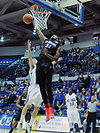 January 20, 2015 - Colorado Springs, Colorado, U.S. -  San Diego State forward, Malik Pope #21, goes in for a layup during a Mountain West Conference match-up between the San Diego State Aztecs and the Air Force Academy Falcons at Clune Arena, U.S. Air Force Academy, Colorado Springs, Colorado.  San Diego State defeats Air Force 77-45.