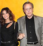 Gina Gershon & William Friekin backstage at 'TimesTalks: Stage To Screen' with David CarrNew York City on 7/24/2012.