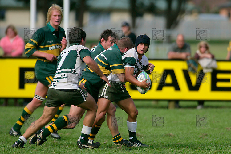 Counties Manukau Premier Club Rugby, Pukekohe v Manurewa  played at the Colin Lawrie field, on the 17th of April 2006. Manurewa won 20 - 18.
