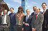 Adrien Benepe, Dave Mattthews, Boyd Tinsley, Mayor .Bloomberg, Richard Parsons, Joel Klein and Jon Miller                                                  .at the announcement of Dave Matthews Band concert on September 12, 2003 in Central Park. The concert will be in .Central Park on September 24, 2003. Photo By Robin Platzer, Twin Images